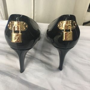 Louis Vuitton patent leather heels
